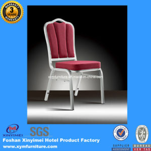 Elegant Modern Stacking Metal Frame Gold Rental Banquet Chair for Restaurant pictures & photos