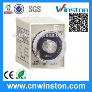 Multi-Range Electronic Adjustable Mechanical Time Relay with CE pictures & photos