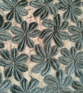 Organdy Fabric Embroider Fabric Lace