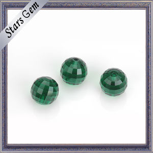 Factory Price Squar Checker Cut Crystal Glass Beads pictures & photos