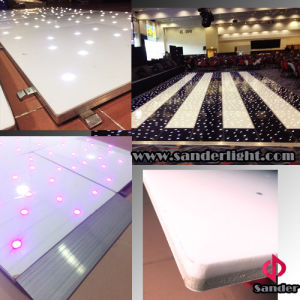 Wireless Dance Floor with White Acrylic Twinkling LED Dance Floor for Wedding Party pictures & photos