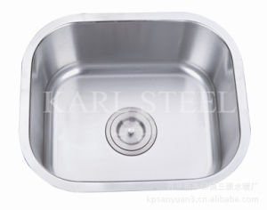 Single Bowl Stainless Steel Sink (6145) pictures & photos