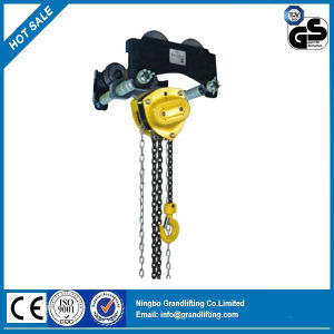 S Type Hand Chain Geared Trolley pictures & photos
