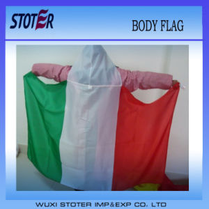 Polyester Body Style Printing Fabric Flag Banner