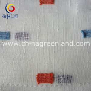 Polyester Slub Swissdot Fabric for Suntan-Proof Wear (GLLML161) pictures & photos