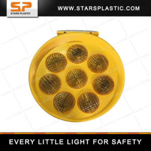 Sunflower Solar Powered Traffic Warning Light pictures & photos