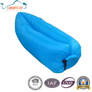 Best Price Lazy Sleeping Bag Inflatable for Camping pictures & photos