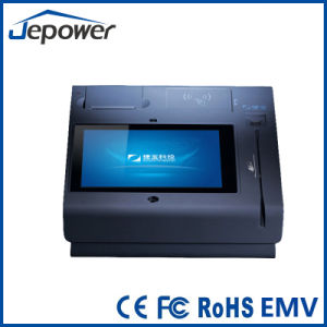 Multi-Touch Capacitive Touch Control Desktop POS with 3G GPRS WiFi Network Mode pictures & photos