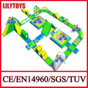 Giant Inflatable Adult Climbing Iceberg Water Park Design for Lake (Lilytoys-WP33) pictures & photos