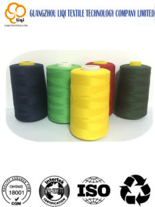 Pure Cotton with Polyester Core-Spun Textile Sewing Fabric Thread pictures & photos