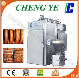 380V Smoke Oven/Smokehouse for Sausage 500kg/Time CE Certification pictures & photos