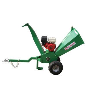 Good Quality Cheap Price 15HP 4inch Chipping Capacity Shredder Chipper, Tree Branches Chipper, 15HP Wood Chipper Shredder pictures & photos