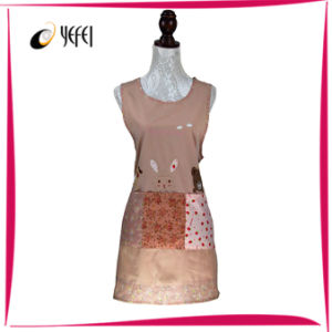 100% Cotton Yarn Dyed Printing Cooking Kitchen Apron