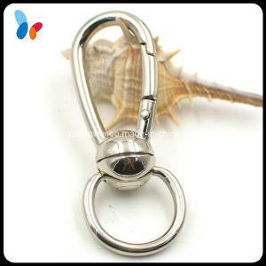 Shiny Silver Nickel Free Metal Alloy Snap Swivel Hook pictures & photos