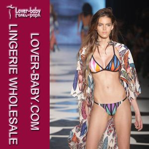 Women Modest Swimsuit Cover up Bathing Suit (L38313) pictures & photos