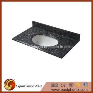 Good Price Natural Blue Pearl Granite Vanity Tops pictures & photos
