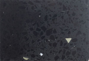 Black Mirror Fleck Quartz Stone, Quartz Slab, Quartz Tile pictures & photos