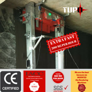 Tupo New Design Best Advanced Wall Plastering Machine pictures & photos
