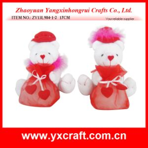 Valentine Decoration (ZY13L904-1-2) Valentine Bear Gift Item Bag pictures & photos