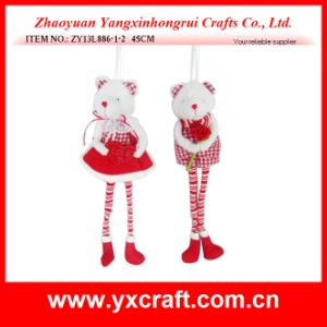 Valentine Decoration (ZY13L886-1-2) Bear Gift Ornament Craft Item pictures & photos