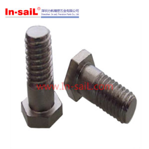 DIN Standard Grade 8.8 Hex Head Bolts of Machinery Fastenning pictures & photos