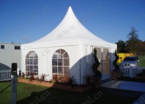 China Factory Aluminium White Pagoda Small Tent pictures & photos