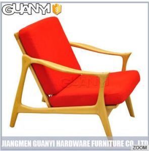 Fashion Orange Color Bedroom Cheap and Good Design Lounge Chair pictures & photos