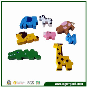 Lovely Animal-Shaped Custom Wooden Kids Toys for Gift pictures & photos