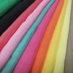 Woven Textile Spandex Linen Nylon Rayon Fabric for Garment