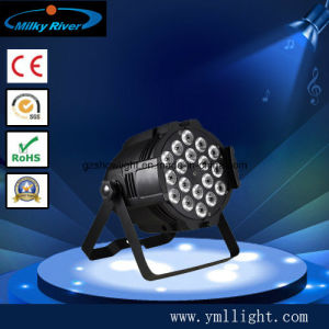 18*10W RGBW 4in1/5in1/6in1 High Power PAR Can pictures & photos