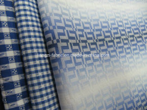 100% Cotton Yarn Dyed Jacquard Fabric for Shirt pictures & photos
