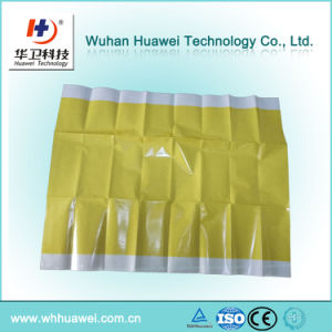 Disposable High Quality Hospital Use PU Film Surgical Incise Drape with Iodine pictures & photos