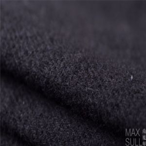 Mixed Wool Fabric with Durable for Autumn Winter in Black pictures & photos
