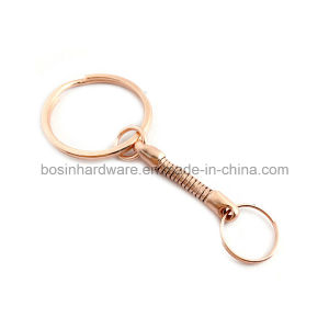 Rose Gold Color Key Ring Chain Small Ring pictures & photos