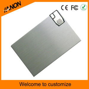 2.0 USB Card USB Flash Memory Metal Card USB Pendrive with Your Logo pictures & photos