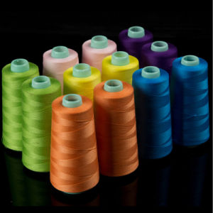 Wholesale 100% Spun Polyester Sewing Thread 100yard/Tube pictures & photos
