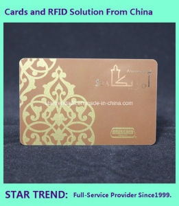 China RFID Card (FM11RF08 13.56MHz) of PVC as Membership Card pictures & photos