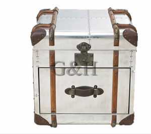 American Retro Industrial Steamer Chest Trunk pictures & photos