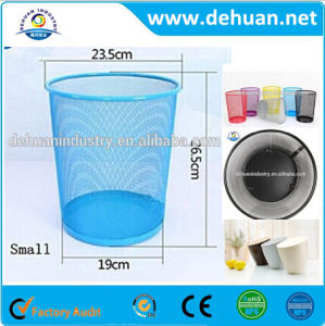 Colorful Plastic Round Trash Bin Waste Bin for Household pictures & photos