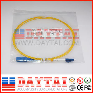 1.5m Simplex Sc/Upc-LC/Upc 2.0mm PVC Patch Cord pictures & photos
