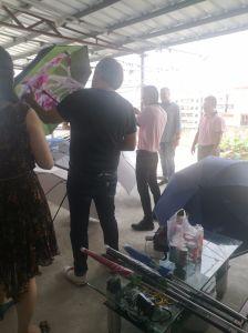 Dongguan Manufacturer Outdoor Square Umbrella (WP-SU001) pictures & photos