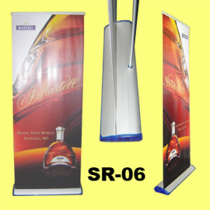 High Quanlity Aluminum Body Case Roll Banner Stand pictures & photos