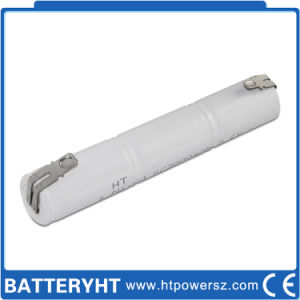 Rechargeable Li-ion 3.6V/4.8V LiFePO4/Ni-CD Battery for Emergency Light