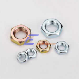 DIN439-2-Chamfered Hexagon Thin Nuts pictures & photos