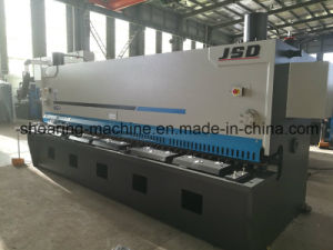 CNC Control Hydraulic Guillotine Shear Machine pictures & photos
