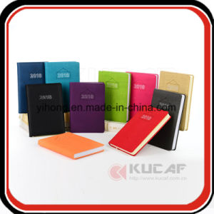 Customize Paper Note Book Leather Diary Planner 2018 pictures & photos