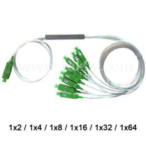 Sc/Upc Sc/APC 1X4/1X8/1X16//1X32/1X64 Fiber Optical Steel Tube PLC Splitter pictures & photos