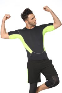 Man′s Fashion Moisture Wicking Fitness Gym Training Sports Wear pictures & photos