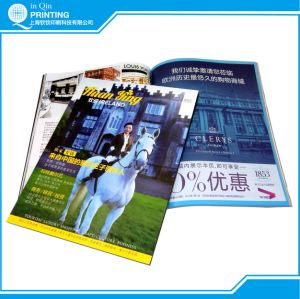 Custom Service Perfect Binding Printing Magazine pictures & photos
