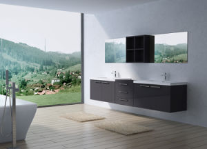 High Quality Bathroom Vanity Cabinet Double Sink Hotel Project Using
